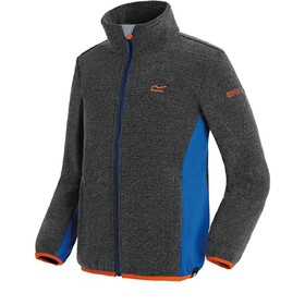 Regatta Ascendo Fleece Jacket Kids Black/Oxford Blue